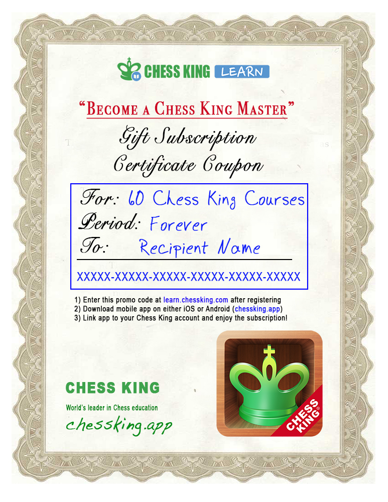 ChessKingCertificate